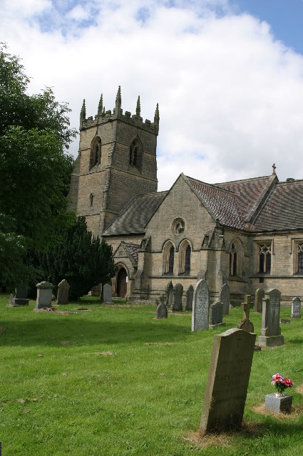 St James' Church, Newton Hall near Corbridge