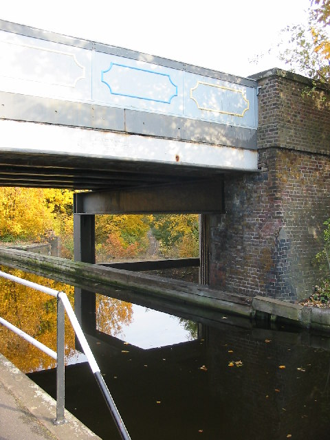 Three Bridges showing crossing of road, canal & railway.