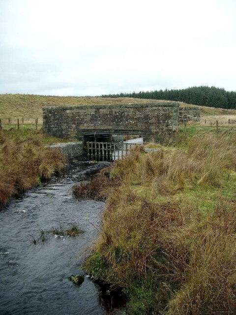 Bridge over the Browncastle Burn