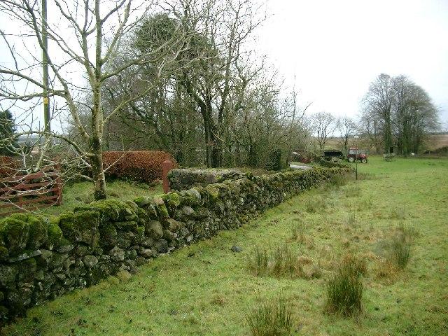 Entrance to West Browncastle farm