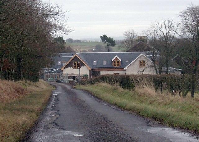 Property development at East Browncastle farm