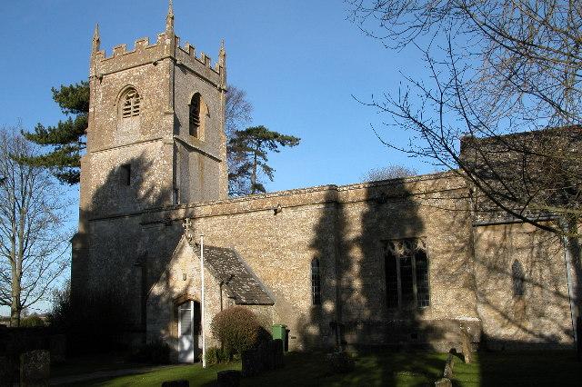Cold Aston church