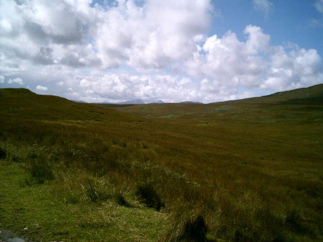 Looking south through Glen Lealt