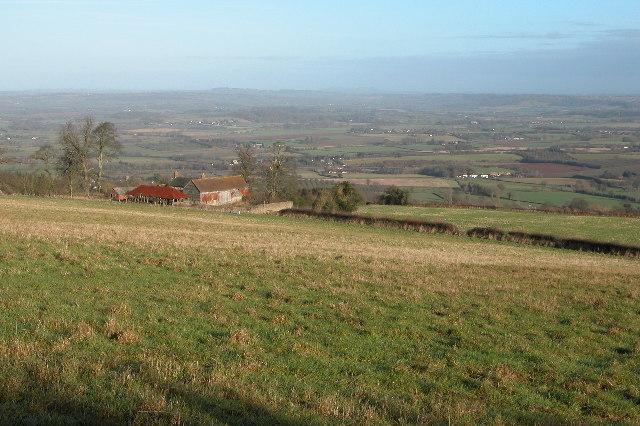 Highnam Farm viewed from Sheepcote Hill
