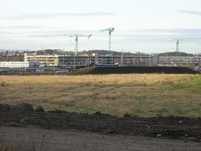 Construction Work at Pollok Shopping Centre