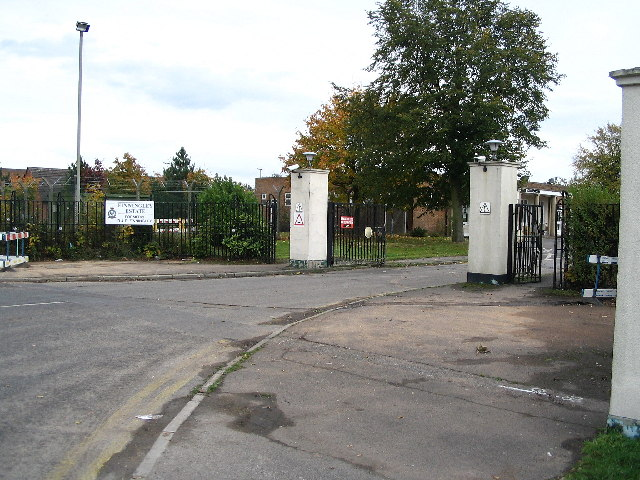 Finningley Estate (RAF Finningley) Main Gate