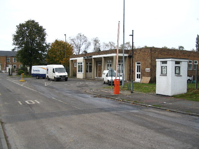 old RAF Finningley Main Gate Guardroom