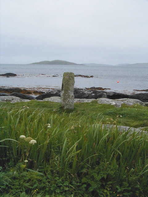 towards Pollachar standing stone
