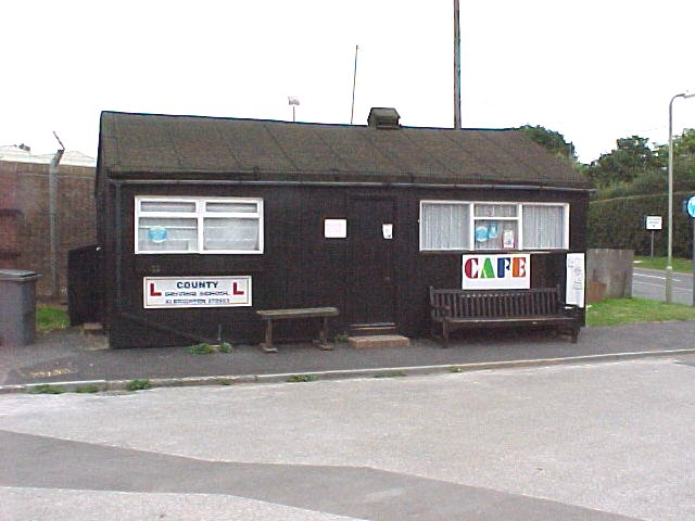 Cafe Shack next to Cosford Halt