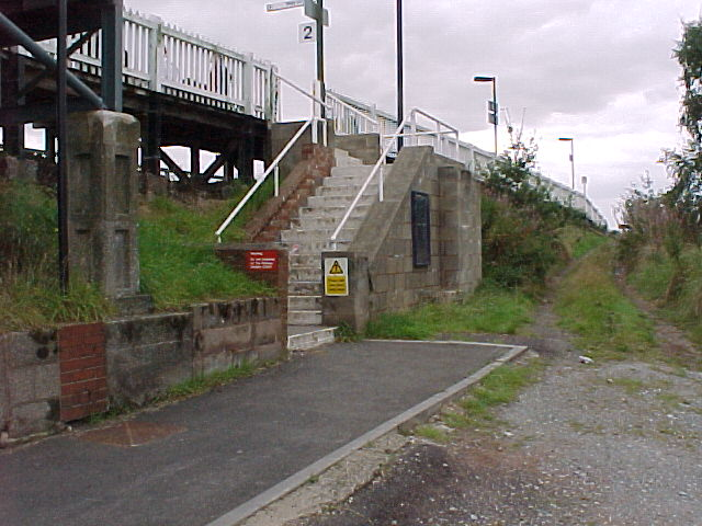 Cosford Halt Steps