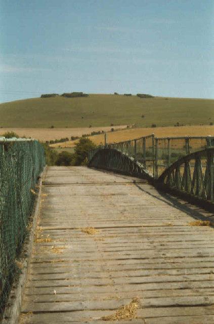 Bridge over River Ouse at Southease