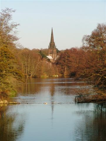 Clumber Lake From Clumber Bridge