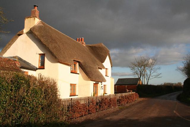 Halberton: house at Burrow Corner