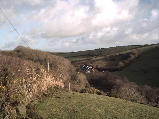 View of Westcott Barton from Beara
