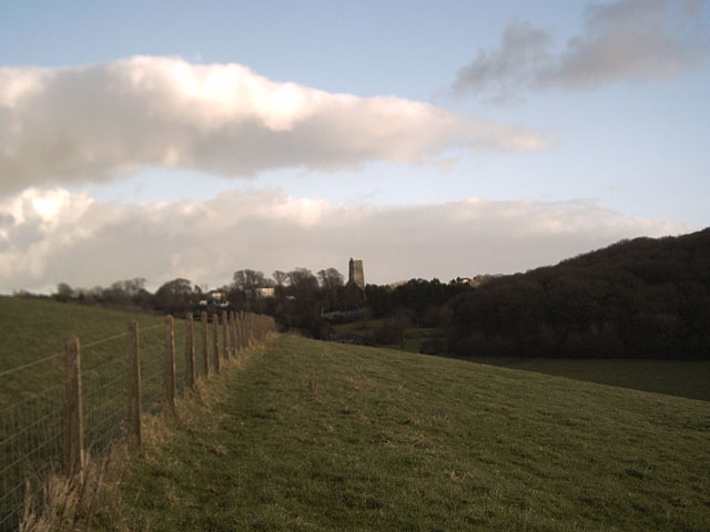 View towards Marwood