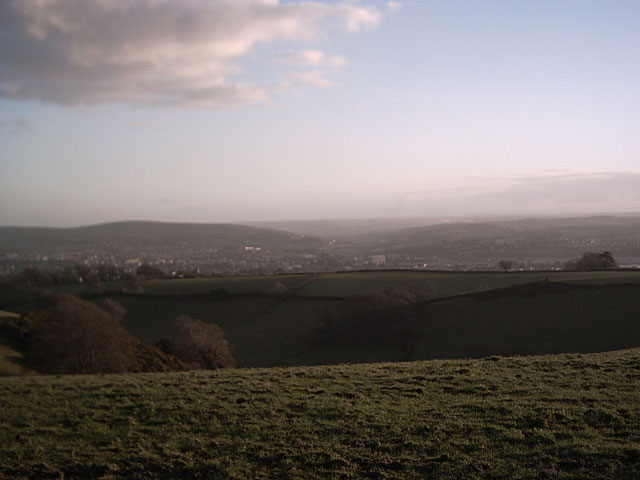 View of Barnstaple from Prixford
