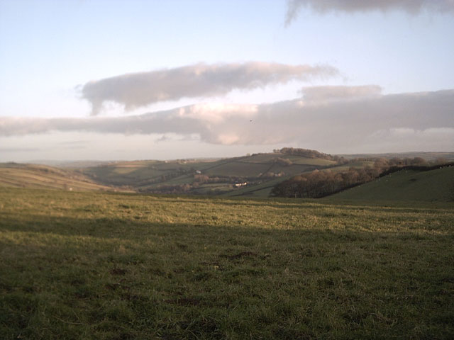 Farmland near Springfield Cross