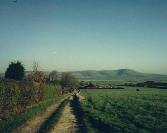 Farm Road to South Farm Rodmell