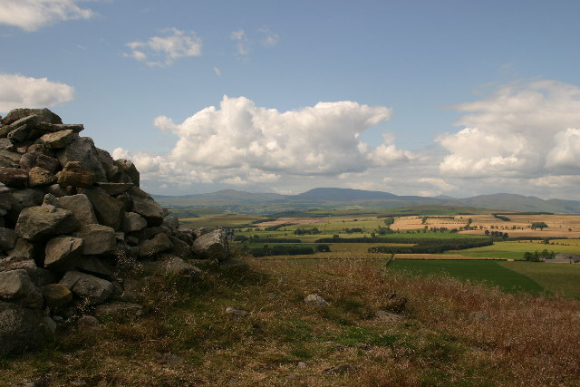 Cheviot viewed from near St Cuthbert's Cave