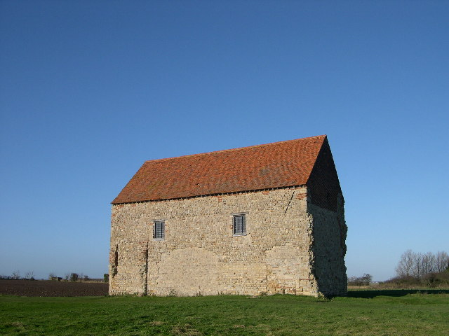 St. Peters on the Wall (Saxon chapel), Bradwell-on-Sea.