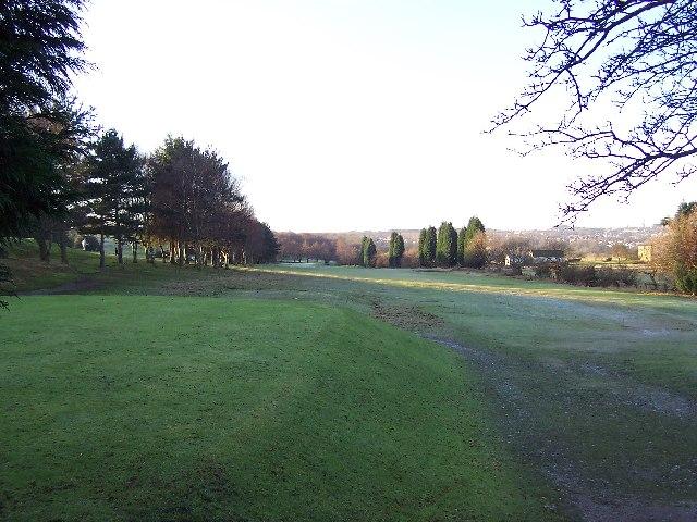 Frosty morning on Headingley Golf Course