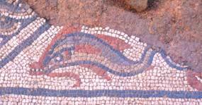 Roman Mosaic at Lopen