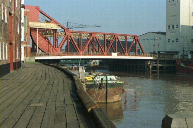 Drypool Bridge on River Hull