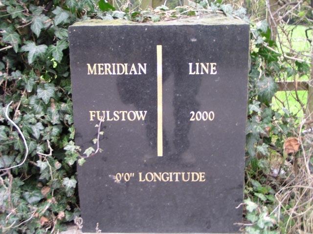 Meridian Line Marker