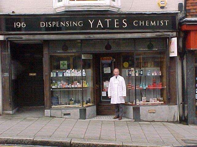 Yates Chemist School Hill Lewes