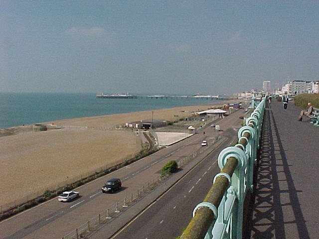 Marine Parade and Promenade Brighton
