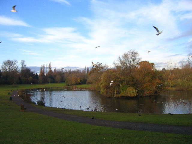 Braunstone Park, southeast side