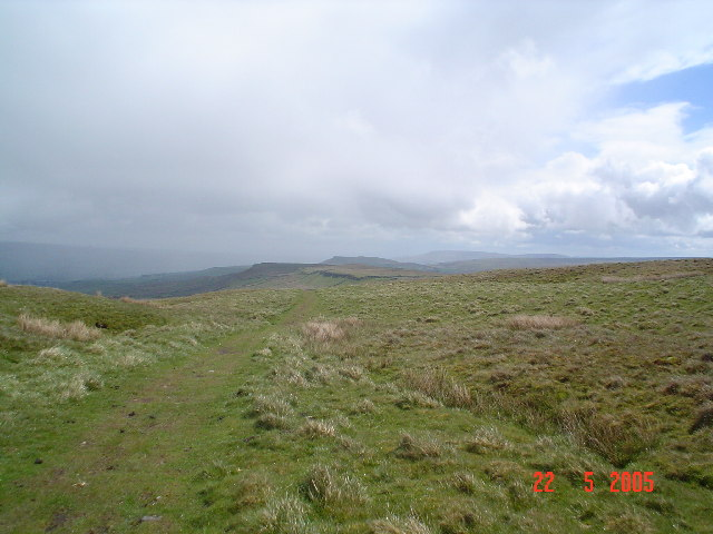 Near the top of Wether Hill.
