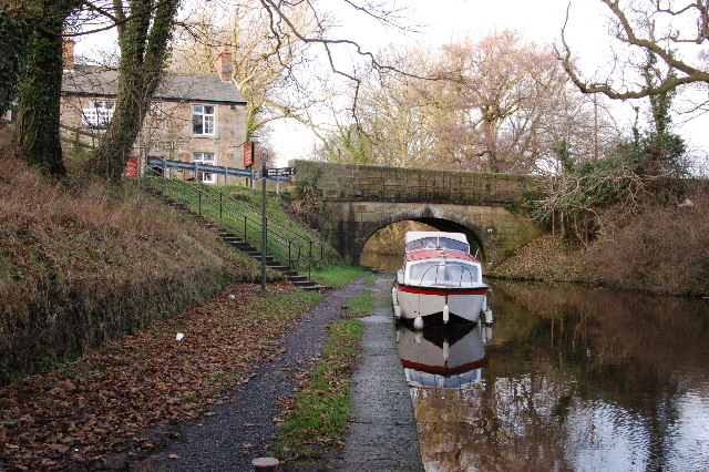 Preston Lancaster Canal by the Hand & dagger Public House