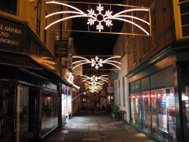 Christmas Lights at Northumberland Passage