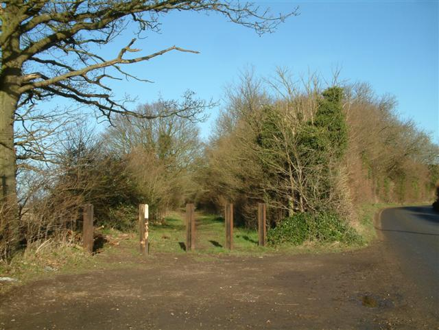 The Footpath to Rumbolds Farm