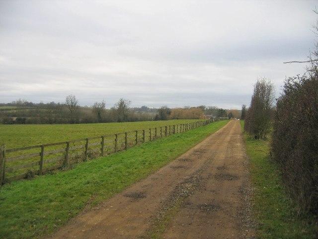 Driveway to Far Longdon
