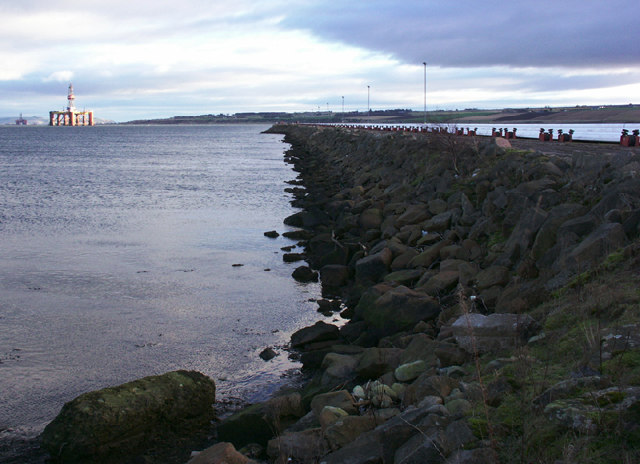 Pier, Highland Deephaven Industrial Estate, Evanton