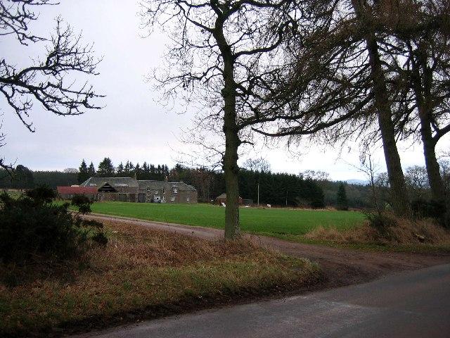 Farm buildings at Charlesfield