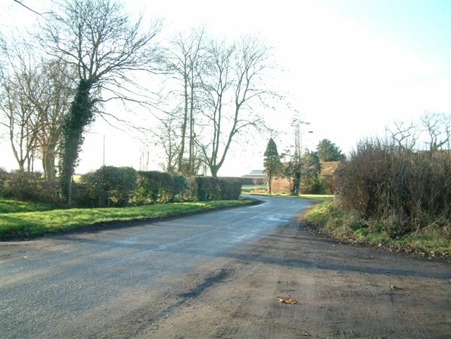 The road to Lewknor