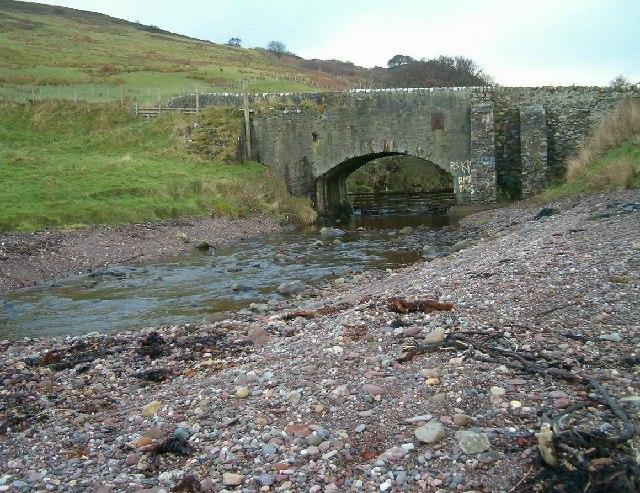 Bridge at the foot of Balnabraid Glen