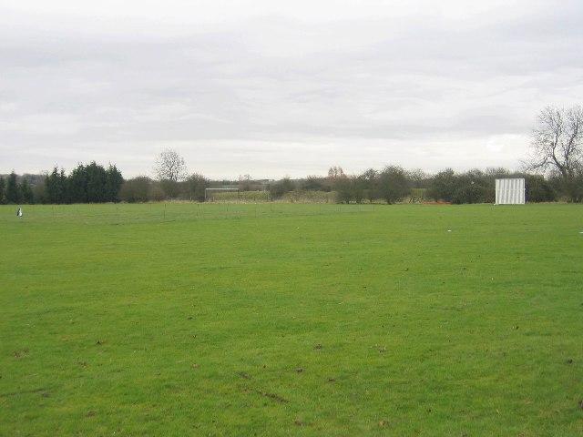 Lighthorne cricket pitch