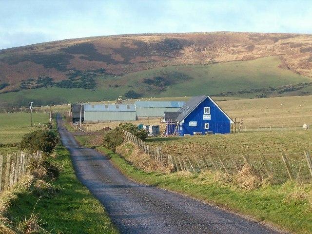 New house at Kildavie