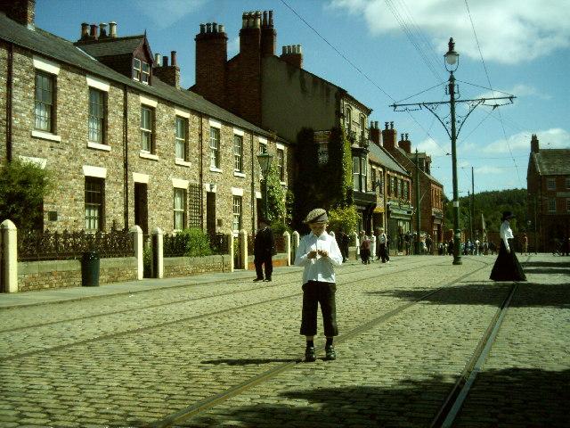 Victorian High Street, Beamish Museum