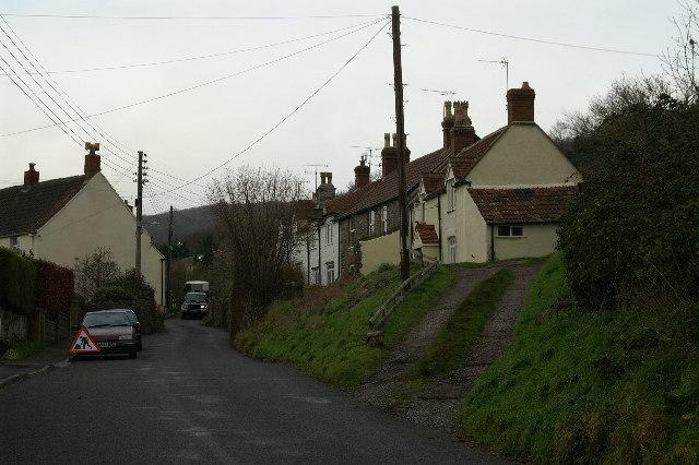 Cottages on Venns Gate near Cheddar