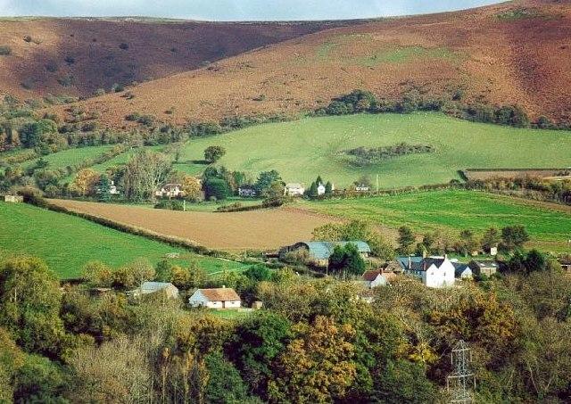 Newton, Bicknoller, and Quantock hills