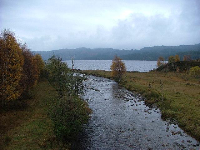 Loch Beinn a' Mheadhoin from the Chisholm Bridge