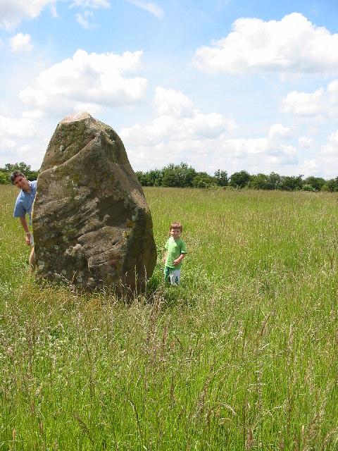 Millennium Stone at Ibstone Common
