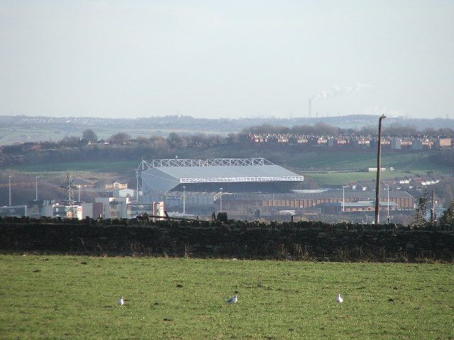 Elland road football ground.