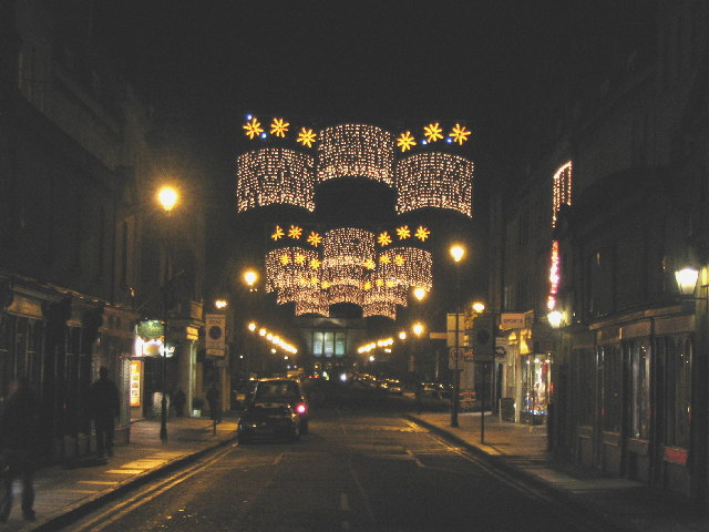 Christmas Lights on Pulteney Bridge