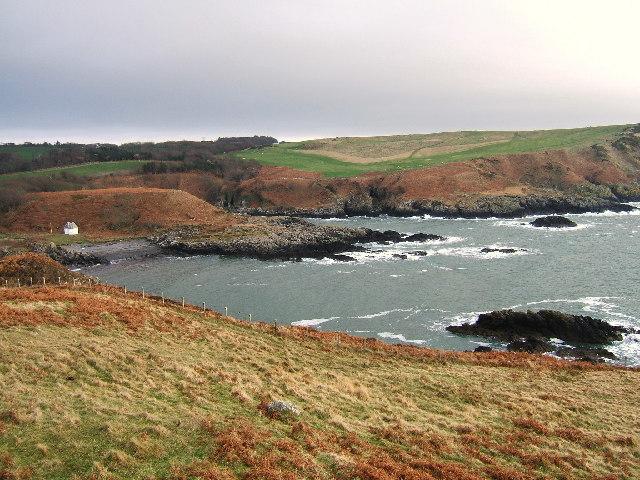 Port Kale and Port Mora Bays from Catebraid near Portpatrick